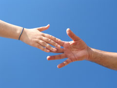 helping hand image